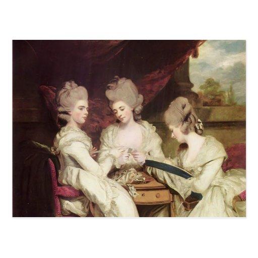 Joshua Reynolds- The Ladies Waldegrave Post Cards