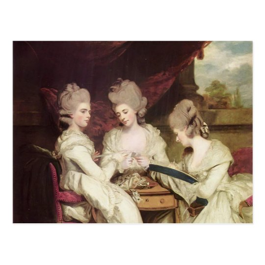 Joshua Reynolds- The Ladies Waldegrave Postcard