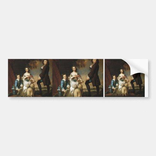 Joshua Reynolds- Thomas & Martha Neate, with Tutor Bumper Stickers