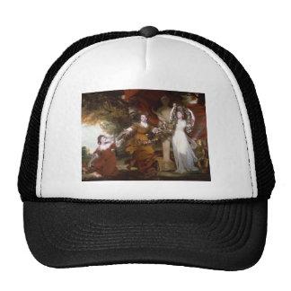 Joshua Reynolds- Three Ladies Adorning a Hymen Trucker Hat