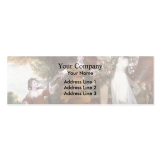 Joshua Reynolds- Three Ladies Adorning a Hymen Pack Of Skinny Business Cards