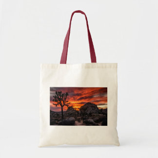 Joshua Tree at Sunset Tote Bag
