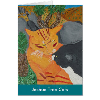 Joshua Tree Cats Card
