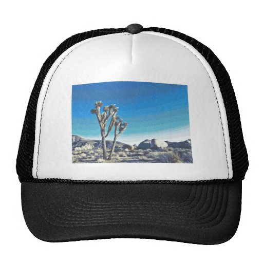 Joshua Tree Drawing Hat
