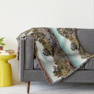 Joshua Tree Forest Throw Blanket