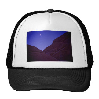 Joshua Tree Moonrise Cap
