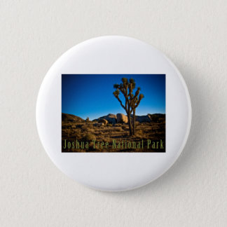 Joshua Tree National Park 6 Cm Round Badge