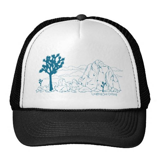 Joshua Tree National Park Art Mesh Hats