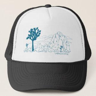 Joshua Tree National Park Art Trucker Hat