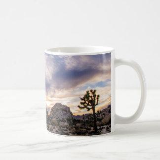 Joshua Tree National Park at Sunset Coffee Mug