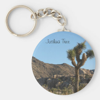 Joshua Tree National Park Basic Round Button Key Ring