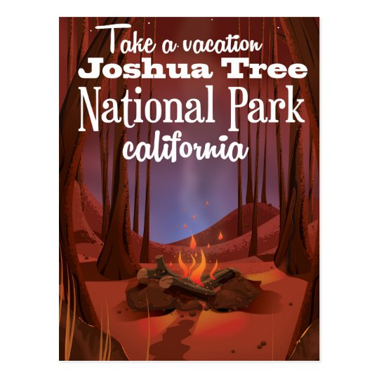 Joshua Tree National Park, California travel Postcard