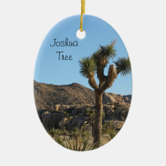Joshua Tree National Park Ceramic Oval Decoration