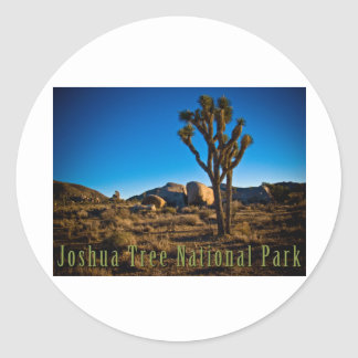 Joshua Tree National Park Classic Round Sticker