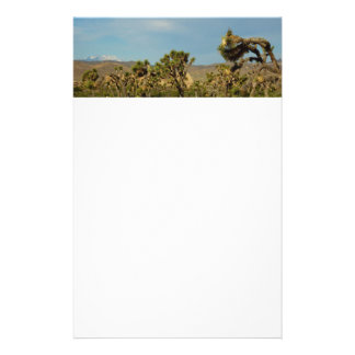 Joshua Tree National Park Desert Landscape Personalized Stationery