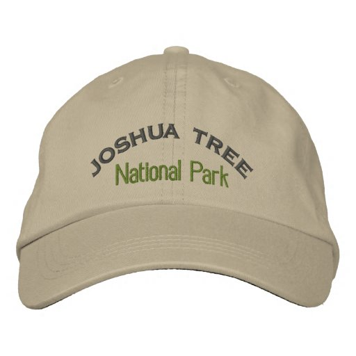 Joshua Tree National Park Embroidered Hats