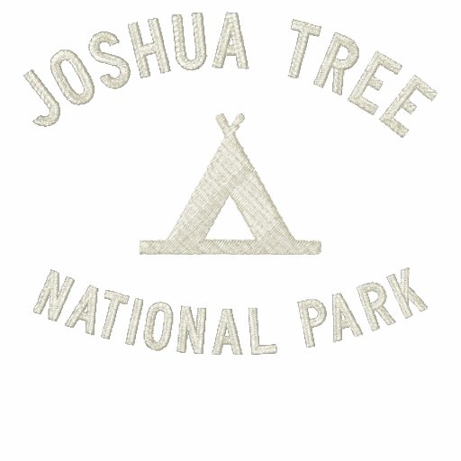 Joshua Tree National Park Embroidered Hoodie