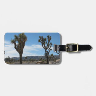 Joshua Tree National Park Luggage Tag