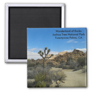 Joshua Tree National Park Magnet