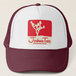 Joshua Tree National Park - Red Trucker Hat