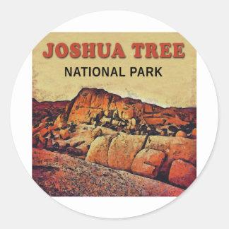 JOSHUA TREE National Park Round Sticker