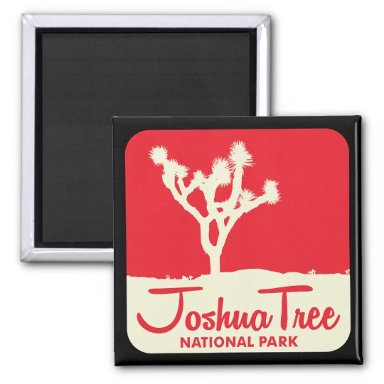 Joshua Tree National Park Square Magnet