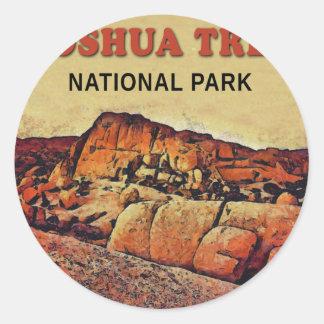 JOSHUA TREE National Park Round Stickers