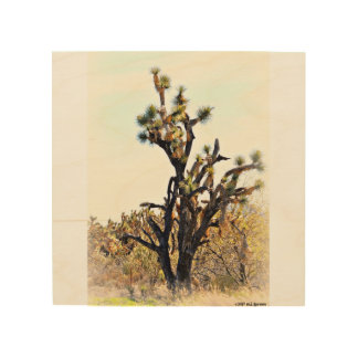 Joshua Tree Wood Wall Art