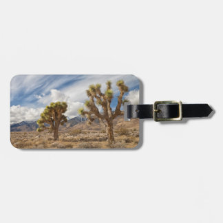 Joshua Trees in Desert Luggage Tag