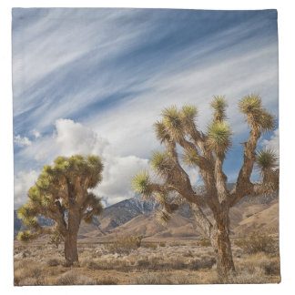 Joshua Trees in Desert Napkin