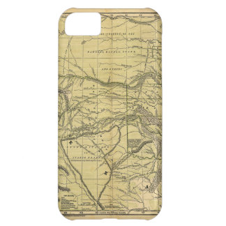 Josiah Gregg's 1844 Map of the Indian Territory iPhone 5C Case