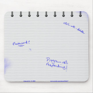 Jotter Pad Mouse Pad