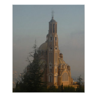 Jounieh Cathedral Poster