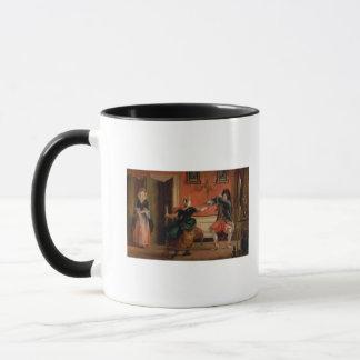 Jourdain Fences his Maid Mug