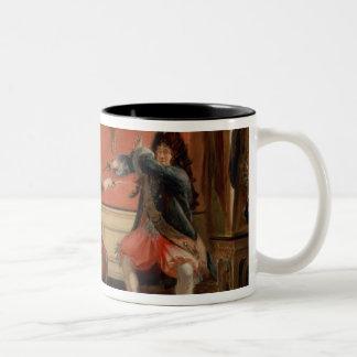 Jourdain Fences his Maid Two-Tone Coffee Mug