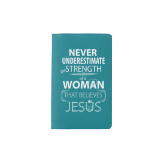 Journal Christian Women Strength Believe in Jesus