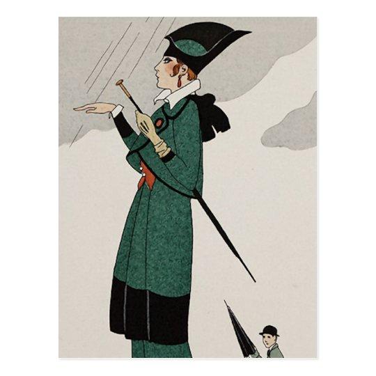 Journal des Dames et des Modes 6 Postcard