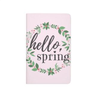Journal - Hello, Spring