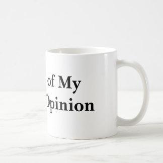 Journal of My Current Opinion Coffee Mug