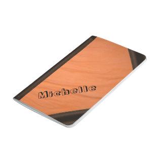 Journal orange cloth look
