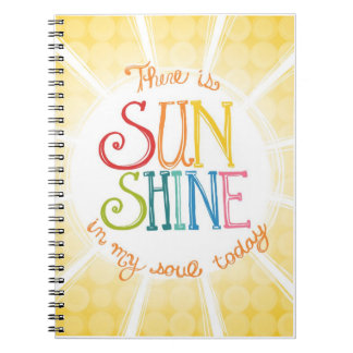 "Journal - ""Sunshine in My Soul Spiral Notebooks"