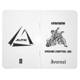 Journal with Hawaiian Ground Control Inc Logo.