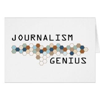 Journalism Genius Cards