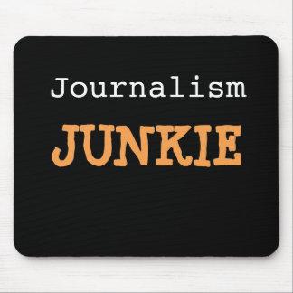 Journalism Junkie Journalist Cruel Funny Joke Name Mouse Mat