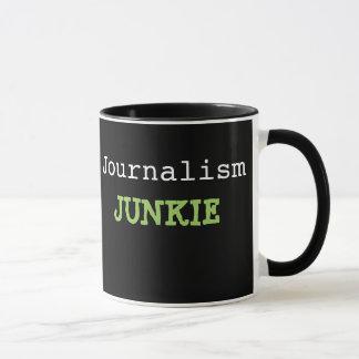Journalism Junkie Journalist Cruel Funny Name Mug