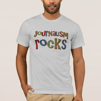 Journalism Rocks T-Shirt