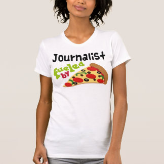 Journalist (Funny) Pizza T-Shirt