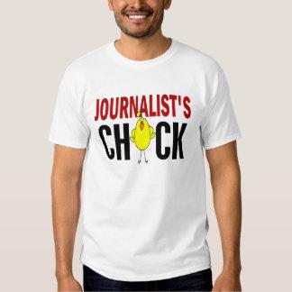 JOURNALIST'S CHICK T SHIRTS