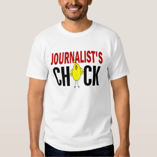 JOURNALIST'S CHICK TSHIRTS