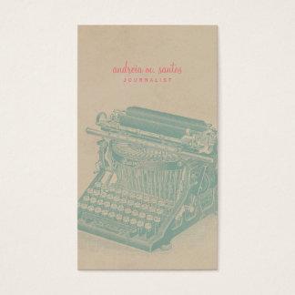 Journalist Vintage Typewriter Cool Mint Modern
